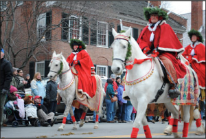 Let The Jackson House Inn host your holiday visit to Wassail Weekend