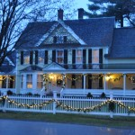 Holiday Decorations at The Jackson House Inn