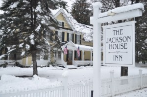 Winter at the Jackson House Inn, a bed and breakfast getaway in Woodstock, Vermont