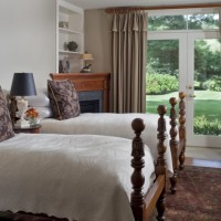The Wales Johnson suite can be arranged with two twin beds