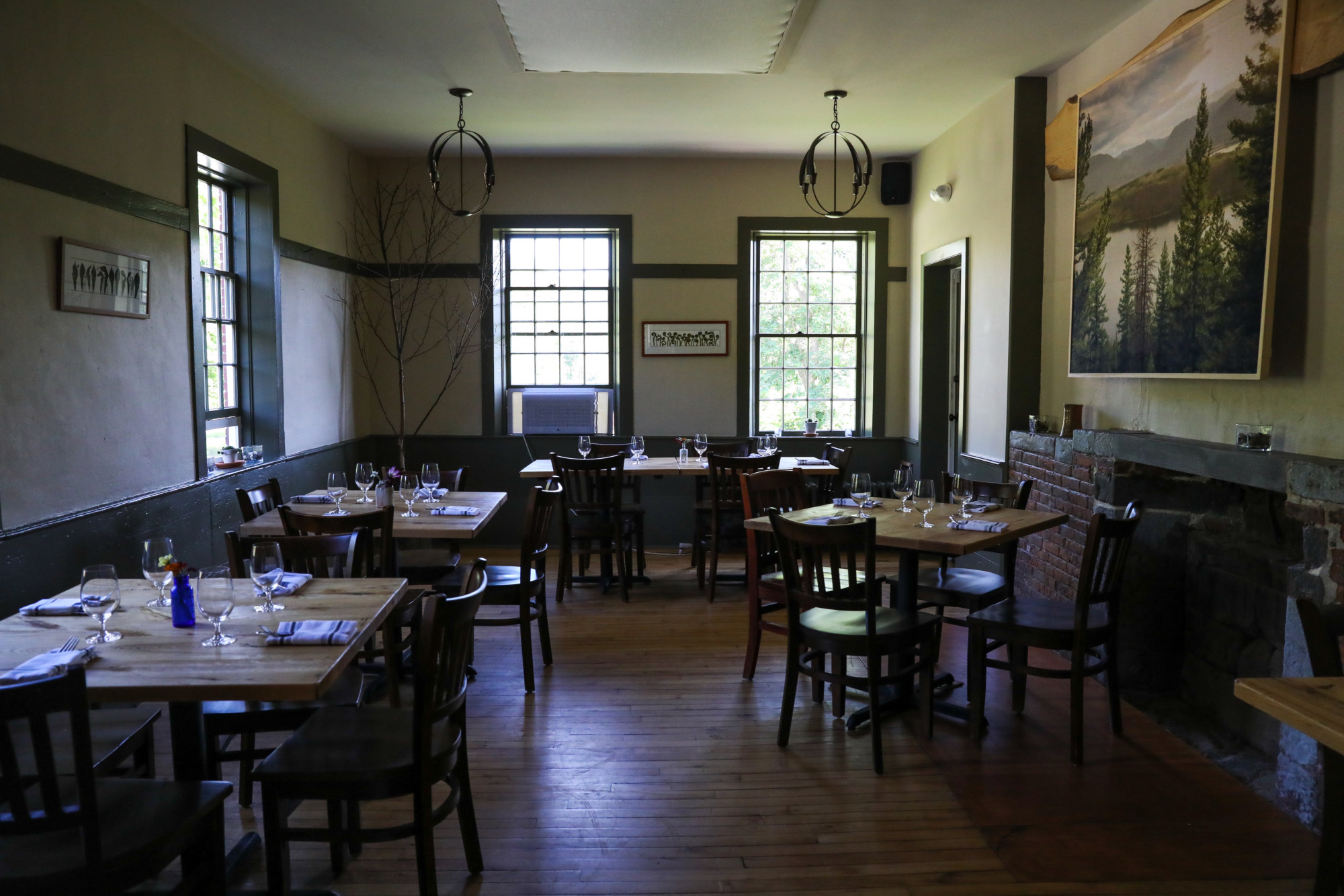 Walk Into Dining Room From Front Door By Ultra Local Delicious Wild Roots Jackson House